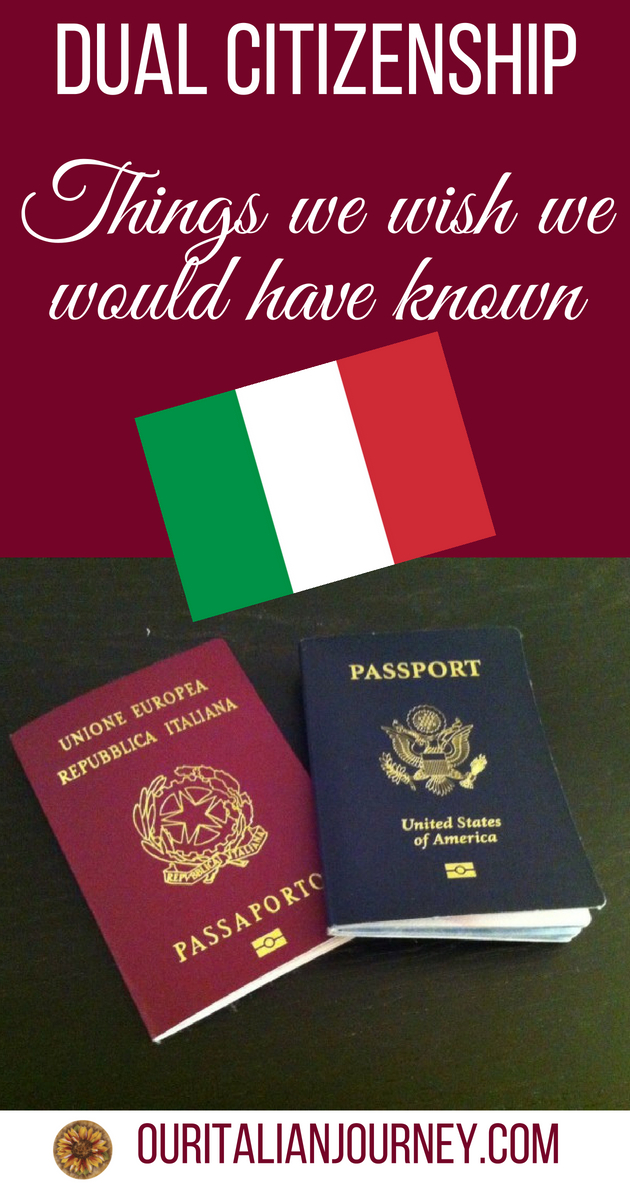 italian dual citizenship document translation