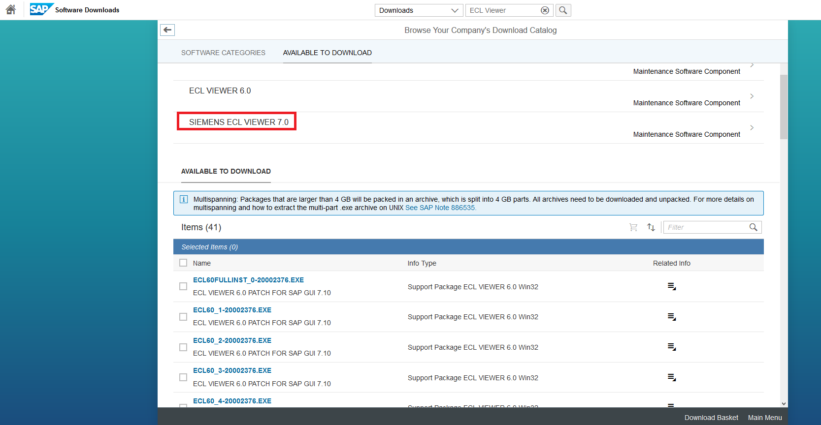 sap ecl viewer documentation