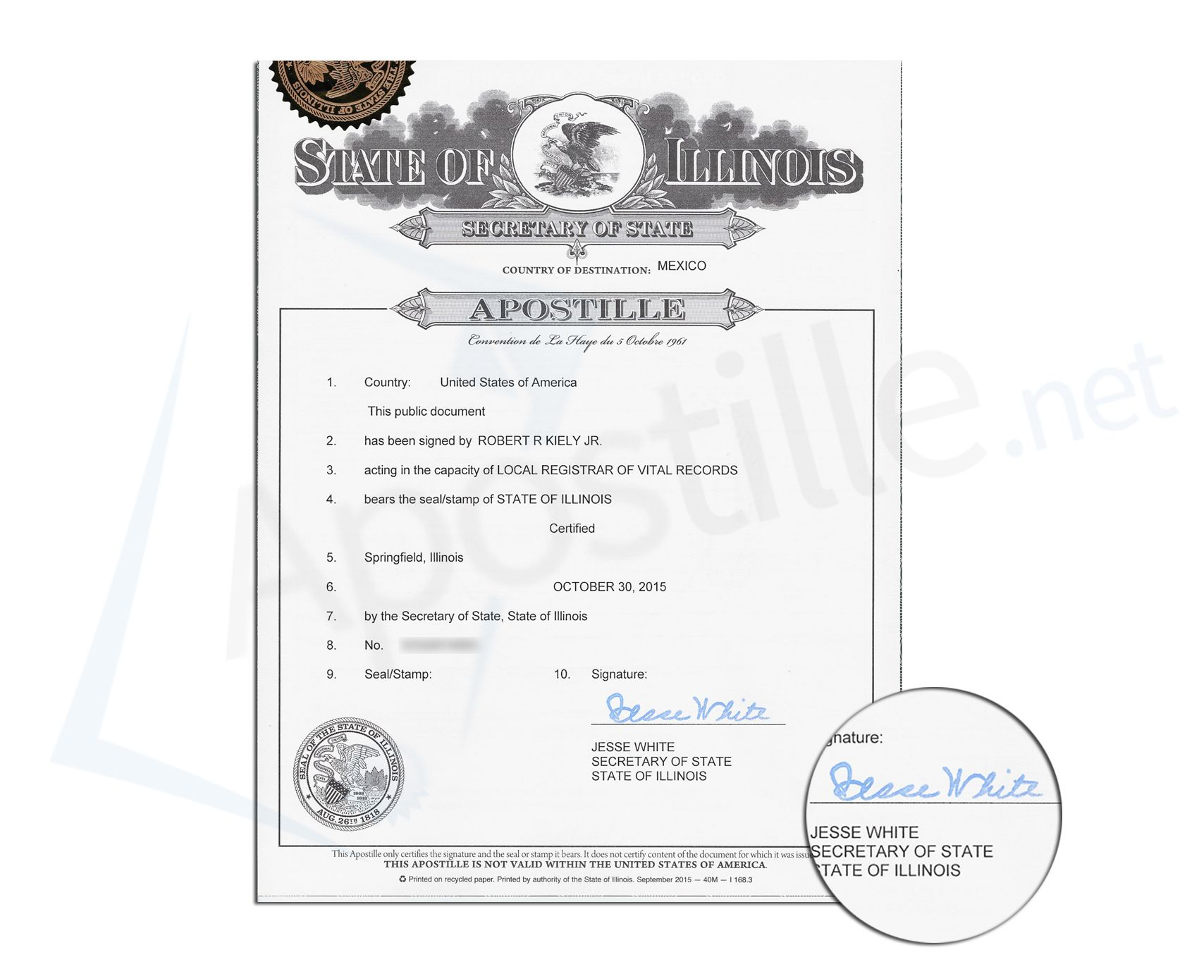 what is an apostille on a document