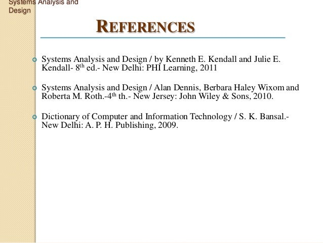what is system documentation in system analysis and design
